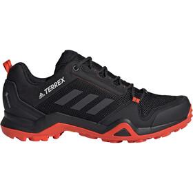 adidas TERREX AX3 Gore-Tex Hiking Shoes Waterproof Men, core black/carbon/active orange